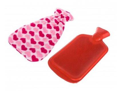 Zahřívací láhev termofor Calme Hearts, objem 1,8 l