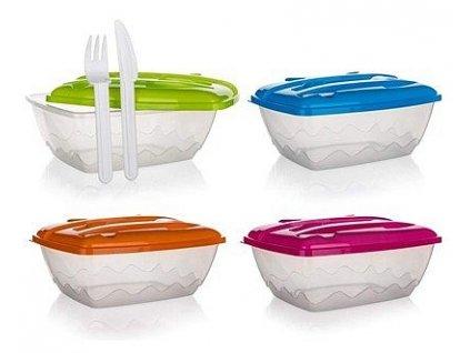 Plastová jídelní sada Banquet, 3 ks