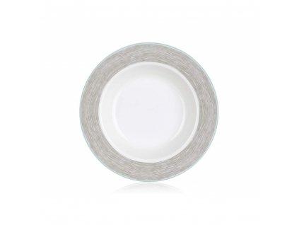BANQUET Talíř porcelánový hluboký SHADOW 21,6 cm