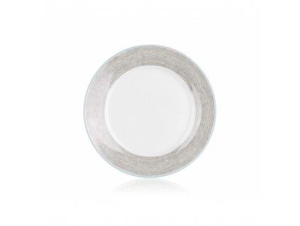 Porcelánový dezertní talíř Banquet Shadow, průměr 19 cm