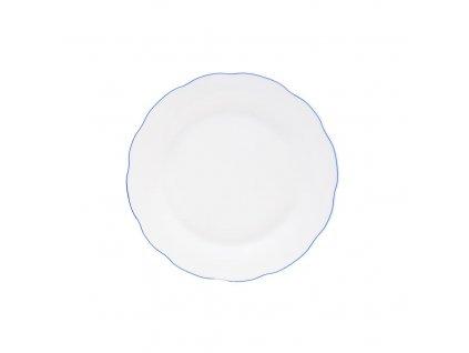Talíř porc. dezertní BLUE LINE pr. 18 cm