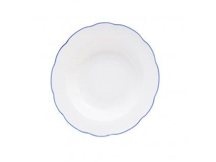 Hluboký talíř BLUE LINE pr. 21 cm
