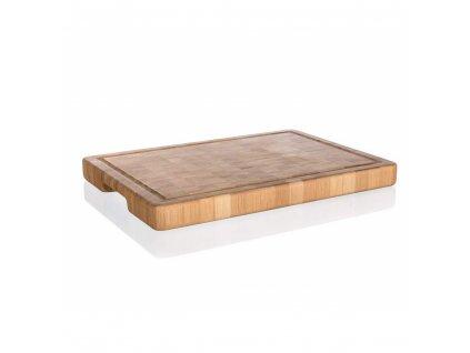 Dřevěné krájecí prkénko Banquet Brillante Bamboo, rozměry 35 x 25 cm