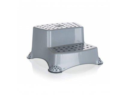 Stolička Keeper šedá, výška 21 cm