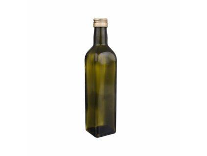 Láhev sklo+víčko OLEJ 0,5 l