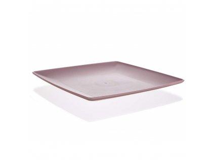 BANQUET Tác servírovací CULINARIA 23,5 x 23,5 x 2 cm, růžový