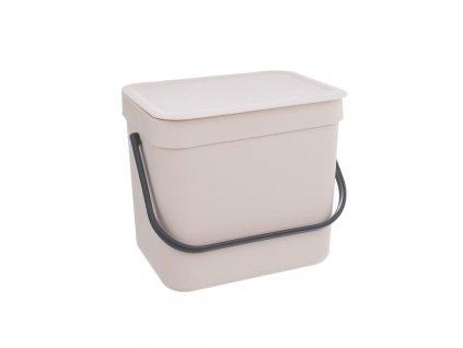 Závěsný odpadkový koš, 6,5 l