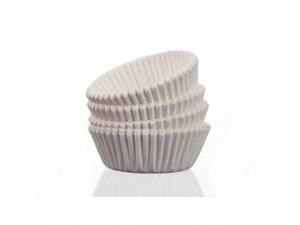 BANQUET Cukrářské košíčky 100 ks bílé, vel. 45x23x91 mm