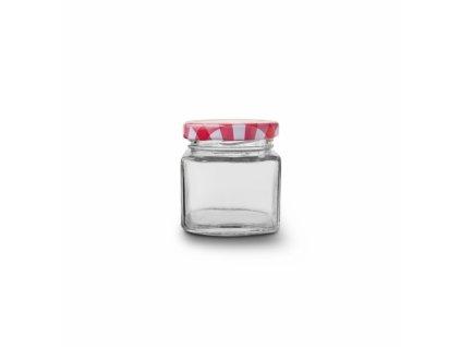 Zavařovací sklenice s víčkem 0,05 l 5 ks