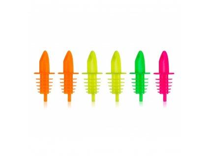 BANQUET Sada plastových nálevek CULINARIA, 6 ks, mix barev
