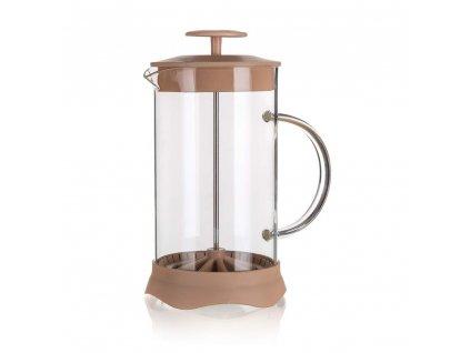 BANQUET Konvice na kávu TIAGO 350 ml, hnědá