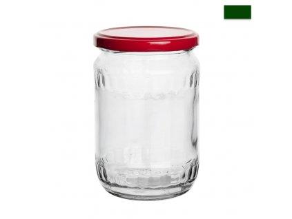 Zavařovací sklenice s víčkem, 0,58 l