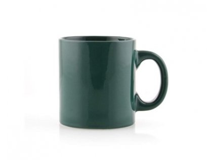 BANQUET Hrnek keramický PROMO 290 ml, tmavě zelený