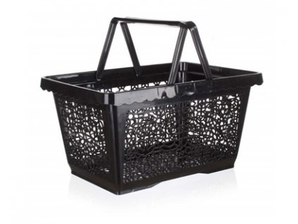 BANQUET Nákupní košík plastový 43 x 30 x 23 cm černý