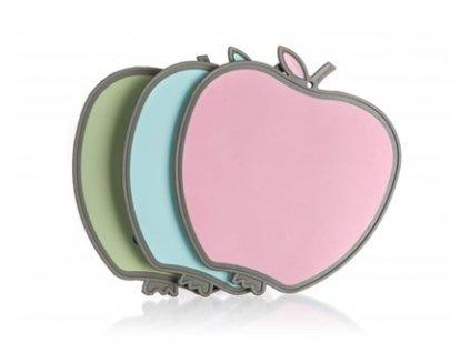 BANQUET Prkénko krájecí plastové VITAMIN Jablko 25 x 27 x 0,8 cm