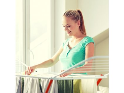 Sušák prádelní rozkládací 18 m LINDA