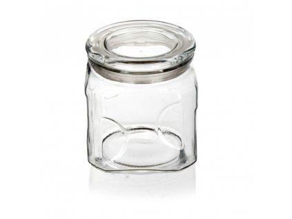 BANQUET Dóza skleněná GLORIS 1300 ml, s víčkem