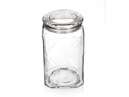 BANQUET Dóza skleněná GLORIS 2600 ml, s víčkem
