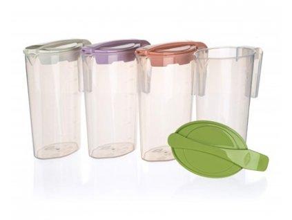 BANQUET Džbán plastový CANDY 1,75 l, mix barev
