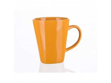 BANQUET Hrnek keramický ASYMO 300 ml, oranžový