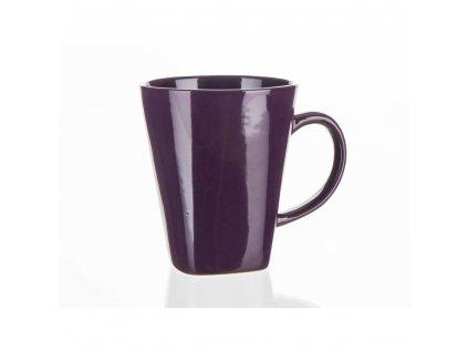 BANQUET Hrnek keramický ASYMO 300 ml, tmavě fialový