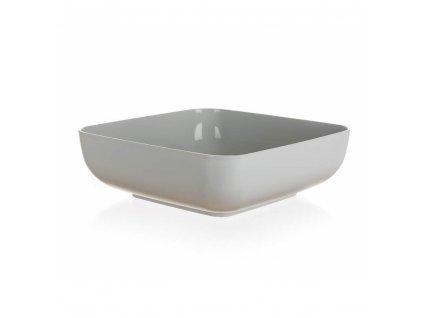 BANQUET Miska plastová CULINARIA 19,5 x 19,5 x 6,3 cm, 1,8 l, šedá