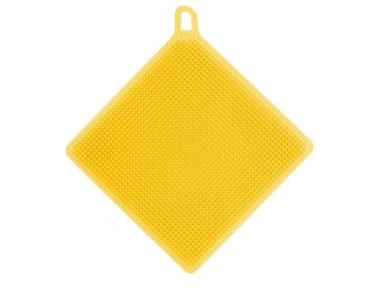 Žínka silikon oboustranná čtverec