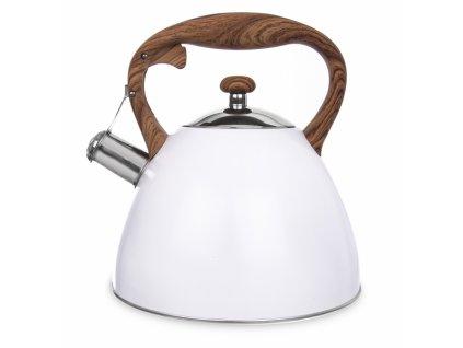 Nerezový čajník Wooden 3,5 l