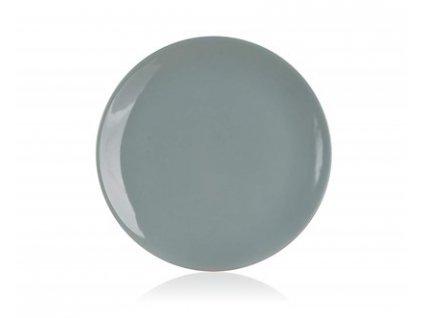 88634 2 banquet talir dezertni keramicky natural olive 20 cm