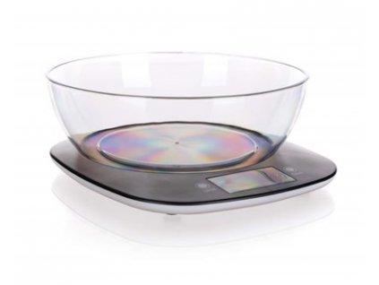 BANQUET Váha kuchyňská digitální  CULINARIA BLACK 5 kg
