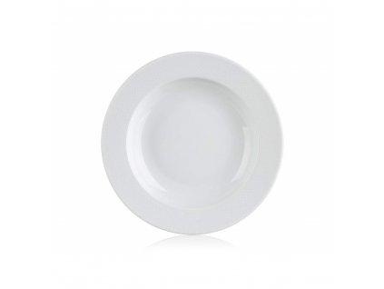 BANQUET Talíř porcelánový hluboký LORETTA 22 cm