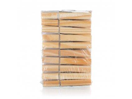 BRILANZ Sada dřevěných kolíčků na prádlo ECONOMY, 20 ks