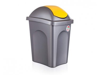 Koš odpadkový MP 30 l, žluté víko