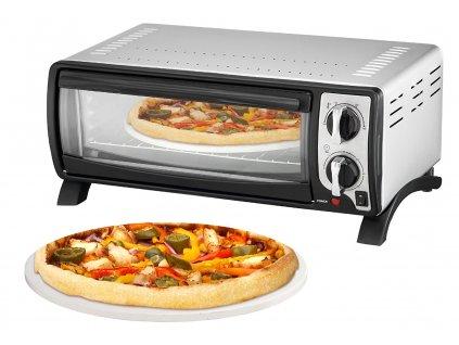Pizza trouba EFBE-SCHOTT MBO 1000 SI, 13 litrů, 1400W, černo-stříbrná