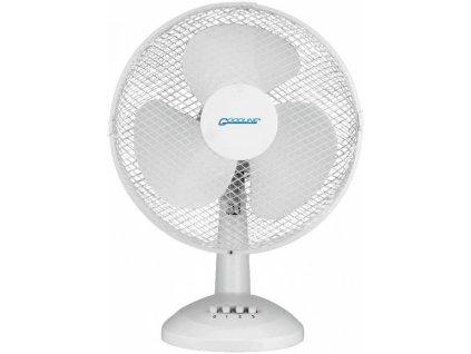 Stolní ventilátor FT-30D, 30 cm, 40W, bílý
