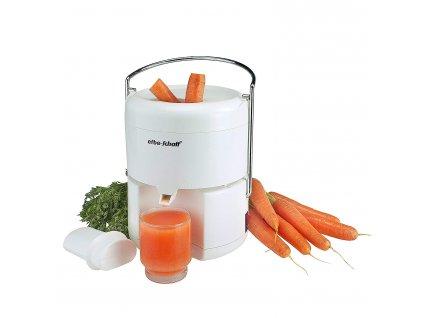 Odšťavňovač na ovoce a zeleninu KALORIK Malina E2, 350W, bílá