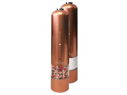 2 mlýnky na sůl a koření PSGR 1050 CO, měděný povrch