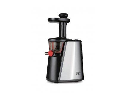 Šnekový odšťavňovač/lis na ovoce a zeleninu KALORIK FE 1011, 150W, černá/nerez