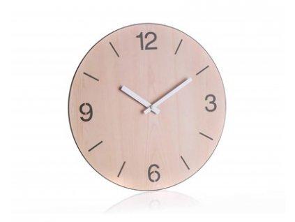 Nástěnné hodiny Home Decor Wood 30 cm