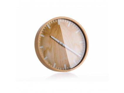 Nástěnné hodiny Wood Deco 25 cm