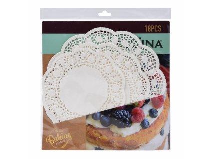 Podložka pod dort papír 3 velikosti 18 ks