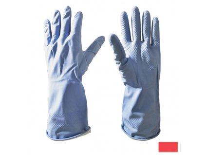 Gumové rukavice L