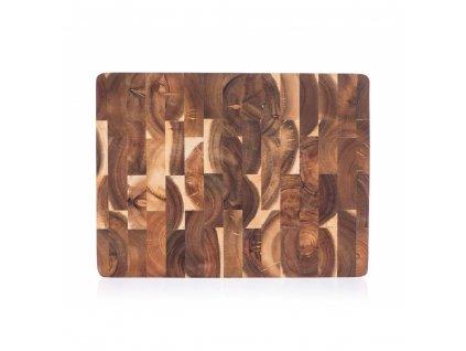 Dřevěné krájecí prkénko Banquet Brillante Acacia 40 x 30 cm