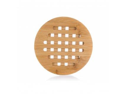 Dřevěná podložka Banquet Brillante Bamboo kulatá 17,5 cm