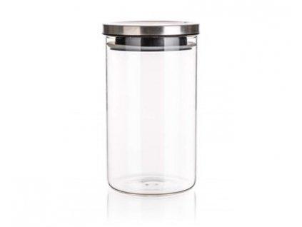 BANQUET Dóza skleněná FREIA 1100 ml, s víčkem