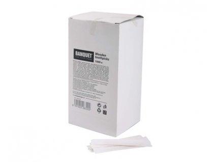 BANQUET Párátka hygienická 2 x 65 mm, 1000 ks, v boxu