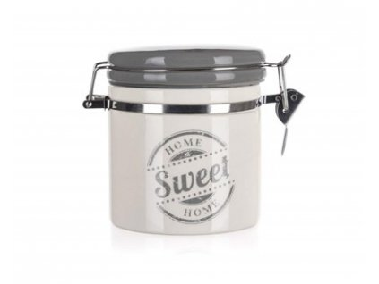 Keramická dóza s clipem Banquet Sweet Home 450 ml