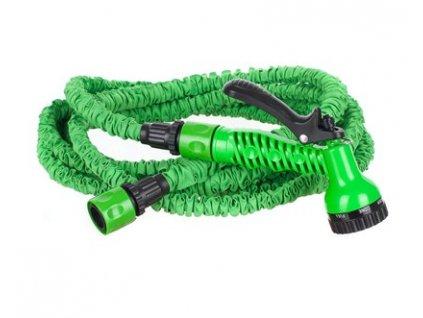 Natahovací zahradní hadice Happy Green 23 m zelená