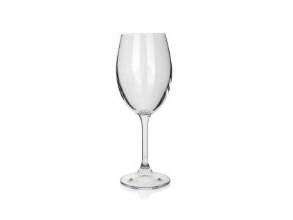 BANQUET CRYSTAL Sada sklenic na bílé víno LEONA 340 ml, 6 ks, OK
