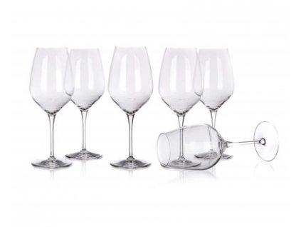 Sada sklenic na víno TRE SENSI 550 ml, 6 ks, L